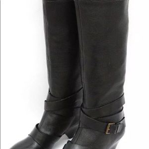 Cynthia Rowley Lainey tall knee high leather boot